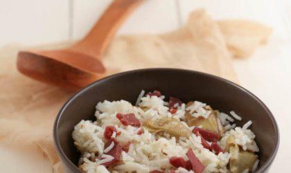Insalata di riso basmati con bresaola