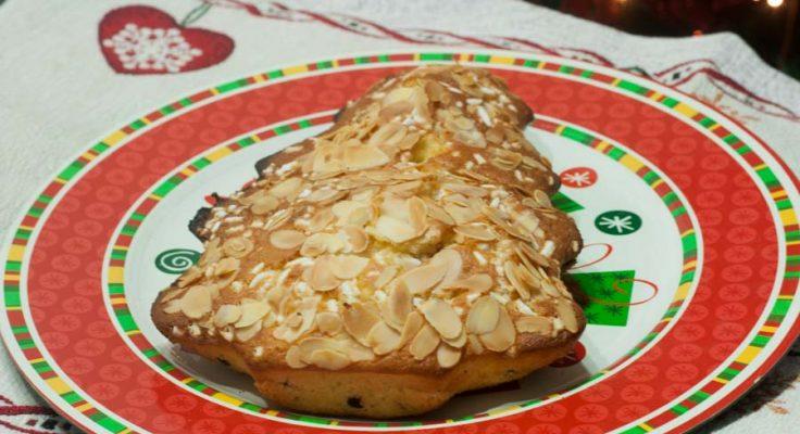Cake di Natale, a forma di albero