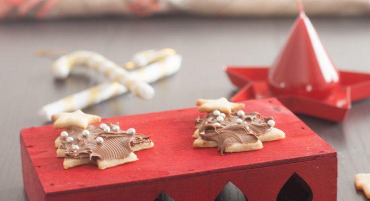 Alberelli di Natale con nutella