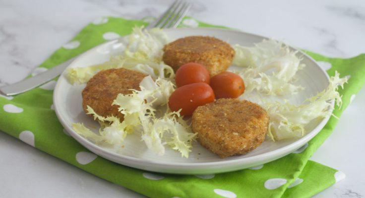 Crocchette salmone e patate al forno