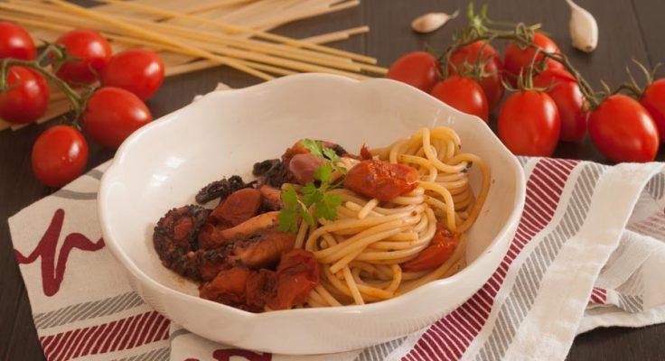 Spaghetti con il polpo, ricetta della tradizione