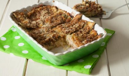 Parmigiana di zucchine a crudo