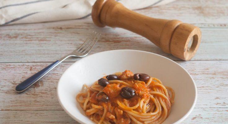 Spaghetti con la lampuga